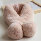 Popuar señoras cálido invierno Bufandas guarnecidos de piel artificial Faux Fur pañuelo de cabeza