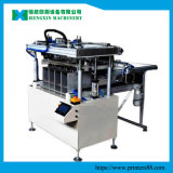 Les chaussures complètent la machine automatique d'imprimante d'écran en soie
