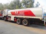 10000 litros de HOWO Euroii 290HP fora do caminhão do petróleo da estrada 4X4