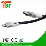 Ficha de alta qualidade relâmpagos cabo de dados USB