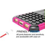 2 in 1 caso resistente dell'armatura di doppio strato della parte posteriore Shockproof dell'ibrido per il iPhone 7/8