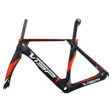 Aero carbone mat Conception 700c T900 Road Bike Frame