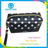 女性方法骨プリントPUの高品質の工場化粧品袋