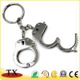 Customized Logo Mini Key Chain for Handcuffs