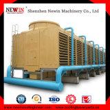 Torre di raffreddamento quadrata di flusso trasversale della vetroresina per industria del condizionamento d'aria