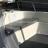 China 5m de la pequeña embarcación de pesca de la velocidad de fibra de vidrio Panga barco yate