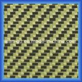 Tissu d'hybride de fibre de carbone de PARA Aramid