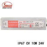 Smv-10-24 10W 24VDC 0.42 IP67는 일정한 전압 LED 운전사를 방수 처리한다