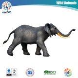 Jouet promotionnel en plastique d'éléphant de vinyle de PVC de qualité