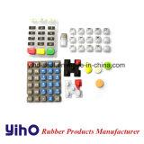 Het Toetsenbord van het Silicone van Rubebr en de RubberFabrikant van de Drukknop