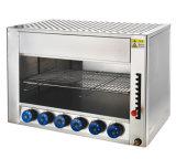 Prix usine de table d'acier inoxydable de gril électrique de BBQ