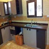 Gabinete de cozinha elevado moderno da laca do lustro 2017