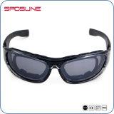Protecteur de lunettes tactiques de lunettes de soleil en verre tactiques de lueur de Sposune d'usine militaires