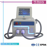 Máquina portátil do IPL da remoção do cabelo e do rejuvenescimento da pele