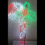 Оптовая торговля Рождество 50м белый раунда 2 проволочного каната лампа для украшения для установки вне помещений