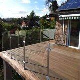 Barandilla al aire libre del balcón del acero inoxidable 304 316 de Customed