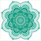 Unterschiedliche Form passte gedruckte geometrische Muster-Badetücher an