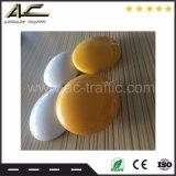 交通安全のための円形の陶磁器の道のスタッド