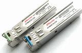 155m módulo SFP Bidi Fp 20km a 40km 1310 TX/1550rx 1310 Tx/Rx 1550Transceptor óptico SFP de transmisión
