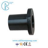 Adaptateur hydraulique noir embase à souder le raccord en HDPE
