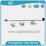 Adjustable Train Gas Spring with Releasing Mechanism