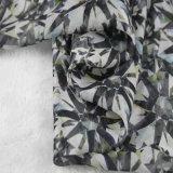 6mm imprime Charmeuse Seda vestido de seda de tela
