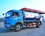 Vario carro fecal especializado de la succión de las aguas residuales del vehículo 10m3