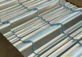 台形Galvalumeの屋根はTのプロフィールのAluzincの金属の屋根ふきを広げる
