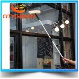 Материал Microfiber уборщика окна инструмента чистки окна нержавеющей стали установленный