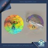Une Utilisation De Temps Étiquette hologramme inviolable