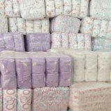 Produtos descartáveis rejeitados dos artigos do bebê do tecido do bebê da classe B