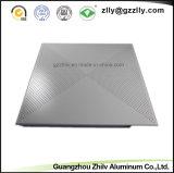 De Klem van de fabriek in de Geperforeerde Akoestische Tegel van het Plafond van het Aluminium van het Metaal met ISO 9001