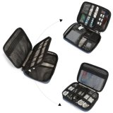 Double Layer Electronics Accessories STORAGE Bag Travel Cable Organizer Cases