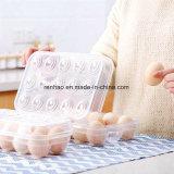 明確なPVC食糧パッキング容器の鶏卵箱(プラスチック皿)