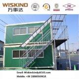 Chalet prefabricado de acero de la casa con FM para la oficina, periódico, casa de protector, tocador, departamento