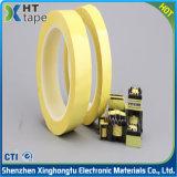 電池のためのポリエステルマイラー耐熱性黄色い自己接着テープ