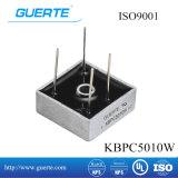 ISO9001를 가진 Single-Phase 브리지 정류기 Kbpc-W 50A 1000V