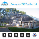 Barraca do famoso da curva de Guangzhou para o banquete de casamento na liga de alumínio
