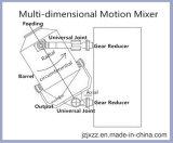 Mezclador tridimensional del oscilación de Sbh