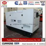 ATS (25-320kW)が付いている40kw/50kVA無声Ytoのディーゼル発電機