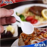 Caractéristique stockée respectueuse de l'environnement remplaçable des cuillères Jx101 en plastique colorées à vendre