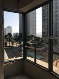 Full Divided Lites를 가진 유럽인과 미국 Style Aluminum Wood Casement Window