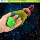 Fulgor no brinquedo educacional dos miúdos do Plasticine luminoso escuro do Putty do Slime