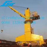 Gheの価格の低い機械門脈クレーン機械可動装置20トンのHlmの水平寄せクレーンHarb