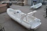 Bateau gonflable rigide de grande fibre de verre gonflable de bateau de Liya 8.3m