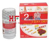 Original dois - dieta do dia que Slimming comprimidos da perda de peso do alimento natural das cápsulas