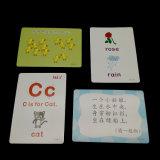 Tarjetas de destello de las tarjetas de impresión de los niños modificados para requisitos particulares venta al por mayor de los servicios
