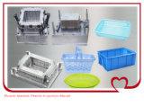 Usine de moulage de fabrication injection en plastique en plastique de panier