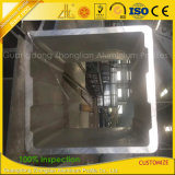 Grand constructeur en aluminium industriel fait sur commande d'extrusion de 250 *300mm