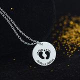 昇進のギフトの母及び子供の丸型の吊り下げ式の方法宝石類(543050377721)